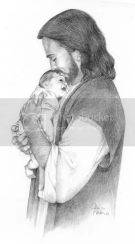 jesus baby photo: JESUS AND BABY jesusanbaby.jpg