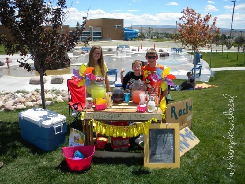 DIY Lemonade Stand Ideas - Join Country Time Lemonade's