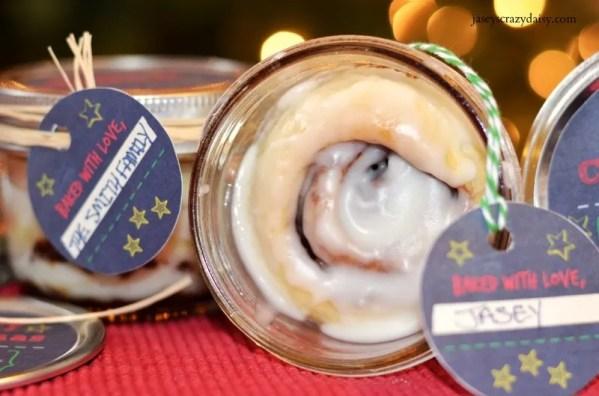 Mason Jar Cinnamon Rolls