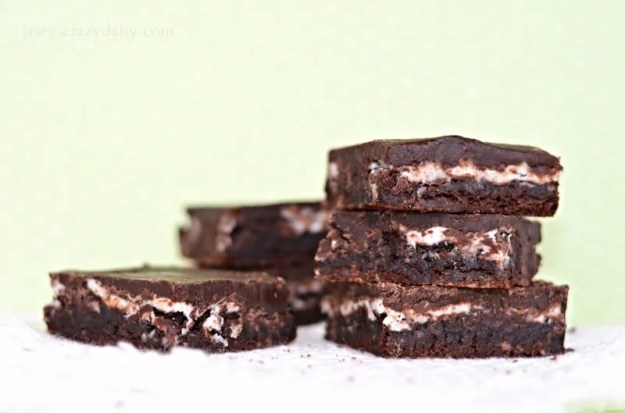 Delicious Peppermint Patty Brownies