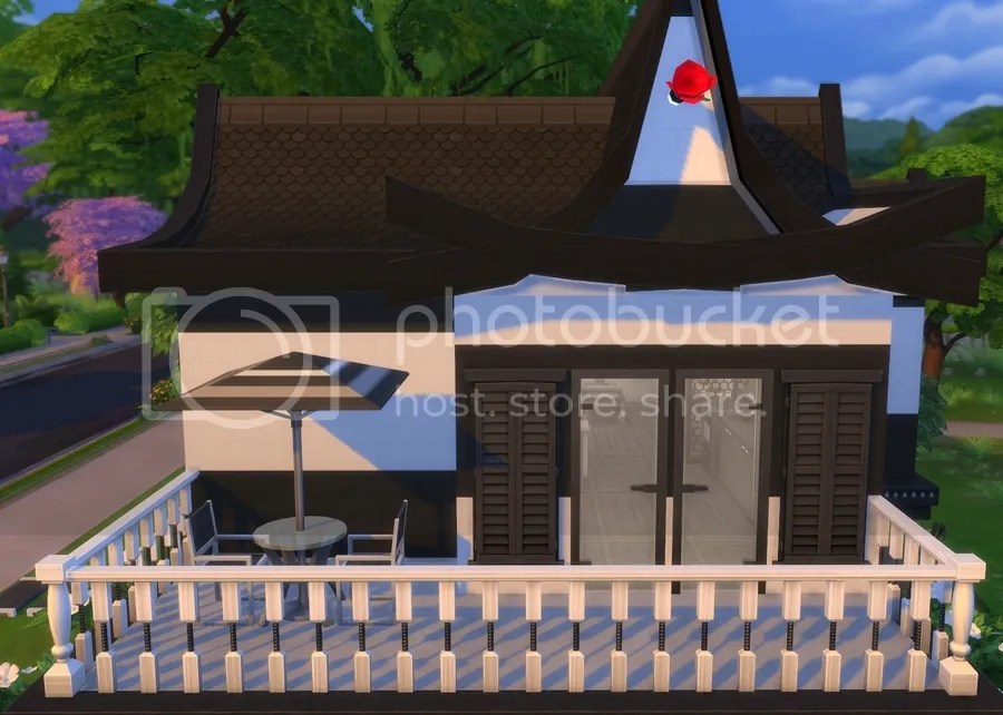 Asian featuring creations for the sims 4 for Sims 4 balcony