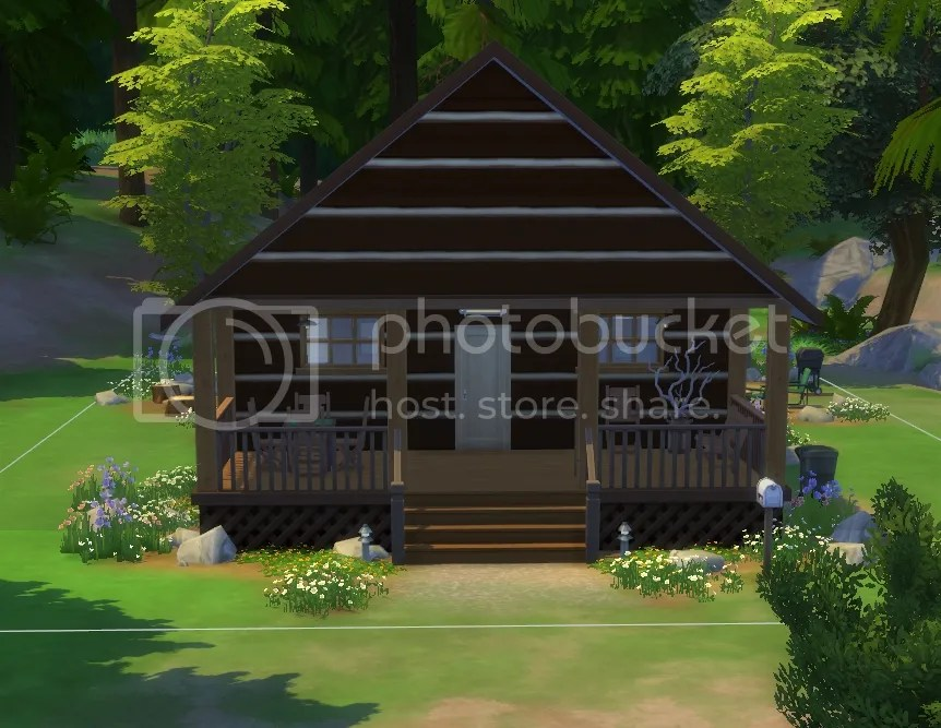 ... Build My Own Cabin In The Woods. There Were A Lot Of Great New Objects  Included In The Pack, But I Was Disappointed In The U201clog Styleu201d Siding That  Came ...