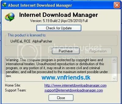 Internet Download Manager 5.19 Build 2, software vnfriends.tk