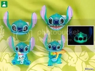 #LS065 – Stitch Light with Gun & Scrump - $12 each
