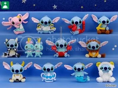 #LS045 – Stitch Horoscope Plush Keychain - S$6