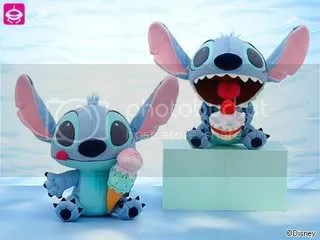 #LS067 – Stitch with Ice Cream Plushie - $20