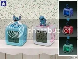 #LS001 - Disney Stitch & Scrump Alarm Clock S$28.00
