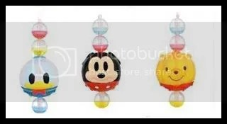 #WP008 – Winnie, Mickey & Donald on Beads Strap - S$2.00 each
