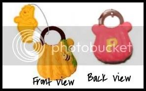 #WP006 – Winnie the Pooh Handbag Emblem Keychain - S$2.50