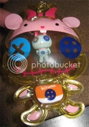 #LS044 – Scrump Balloon Keychain - $10