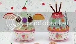 #LS047 – Stitch & Scrump Ice Cream Keychain - $11 / $13