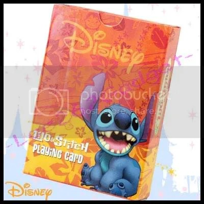 #LS023 - Disney Lilo & Stitch Playing Cards - S$12.00