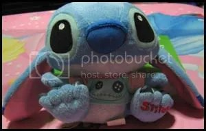 #LS036 – Stitch Sitting Down Plush - $18