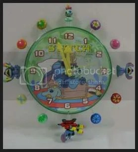#LS025 - Stitch & Scrump Wall Clock - S$23.00