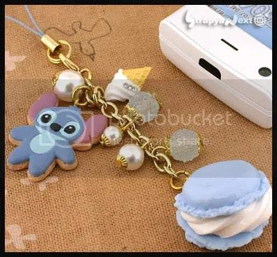 #LS034- Stitch with Candy Surprise Phone Strap - $15