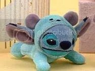 #LS051 – Stitch in Mouse Costume Plush Keychain - $7