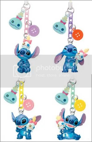 #LS039 -Stitch & Scrump Button Keychain - S$3.50 (each)