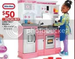 Walmart – Little Tikes Gourmet Prep N Serve Kitchen, Pink ...