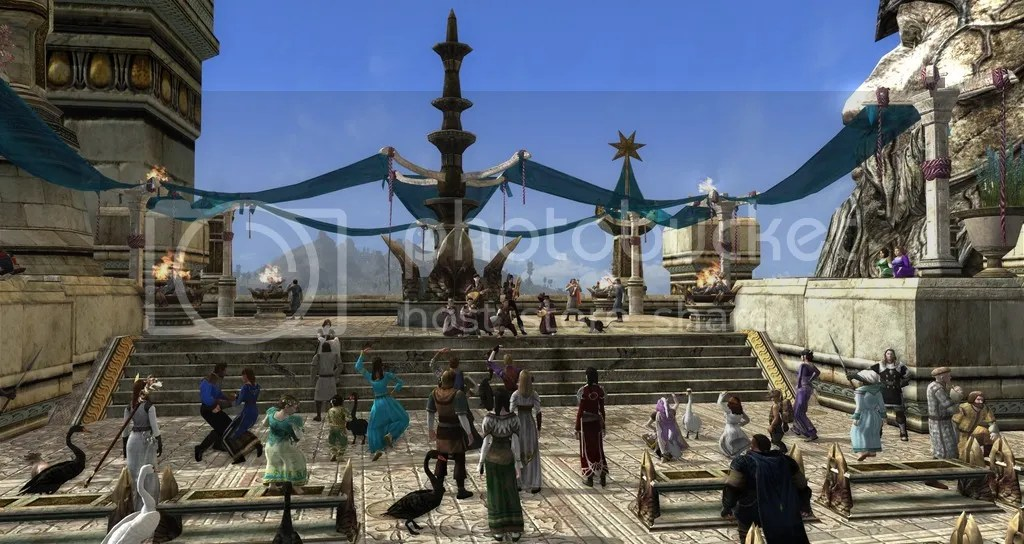 Ales and Tales in Dol Amroth LOTRO