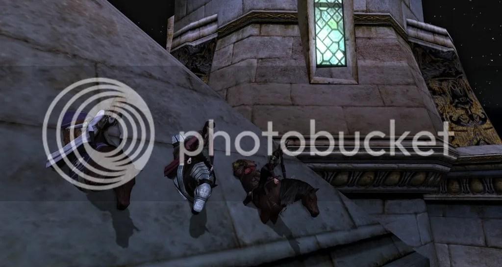 Wall glitch in Dol Amroth