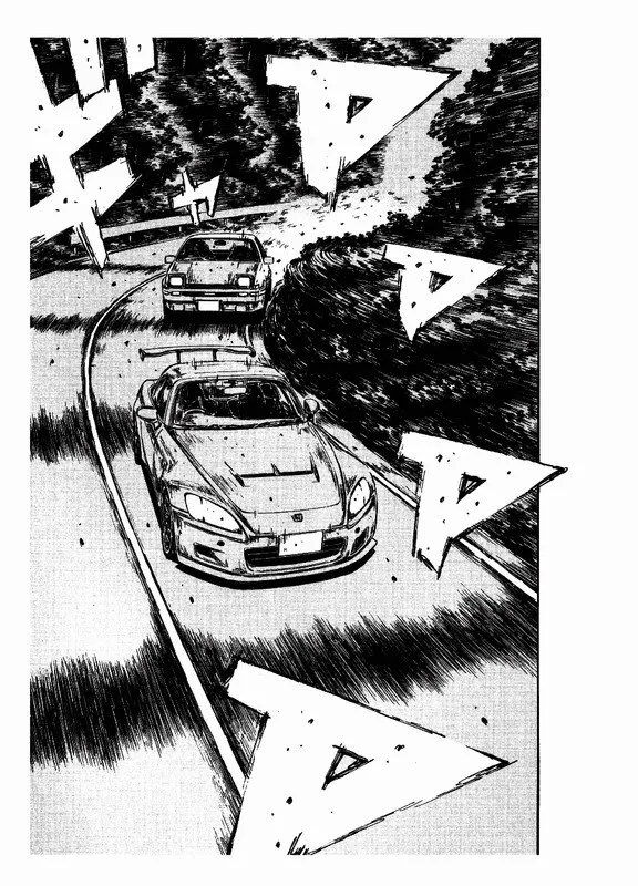 Initial D 29 Scanned BW