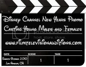 Disney Channel New Years Casting