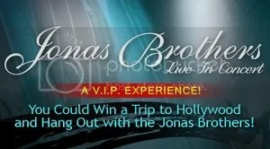 Jonas Brothers Live In Concert - A VIP Experience
