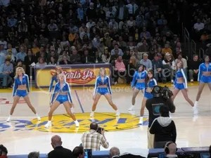 Los Angeles Laker Girls 2011 Auditions