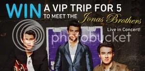 AIM Jonas Brothers Concert Sweepstakes