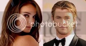Natalie Portman Chris Hemsworth Thor 2