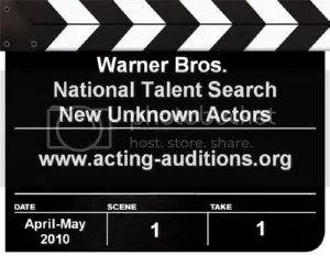 Warner Bros National Talent Search Project X