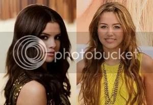 Disney Stars Selena Gomez Miley Cyrus