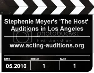 Stephenie Meyers The Host Auditions