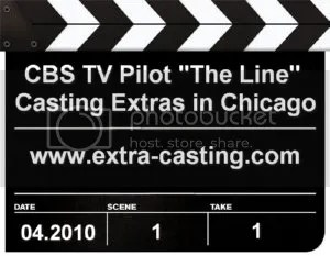 CBS TV Pilot The Line Extras Casting