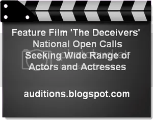 The Deceivers National Open Casting Call