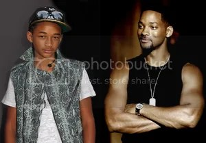 Will and Jaden Smith After Earth