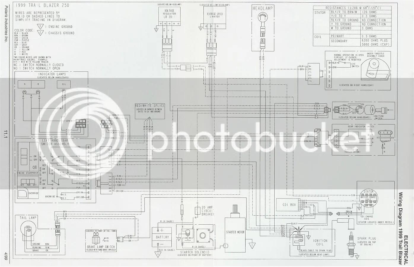 polaris trailblazer 250 wiring diagram photo by slinger10