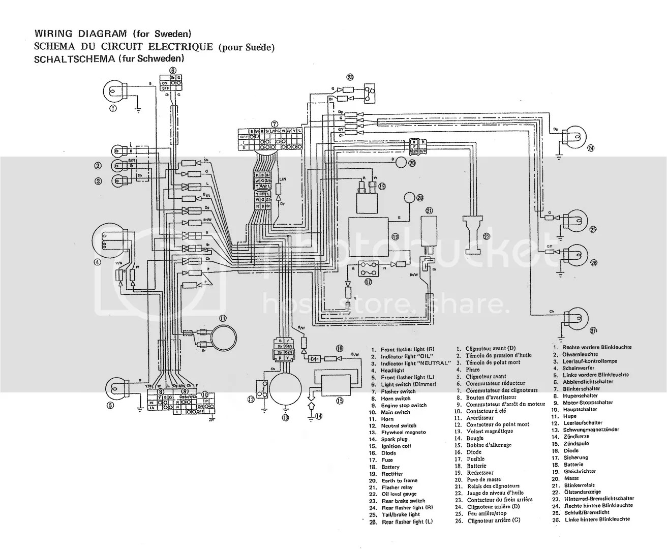 Wiring Diagram Yamaha V50 Download App