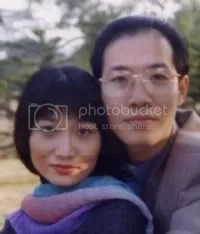 Wenjian Liang and her husband Zhiyong Lin