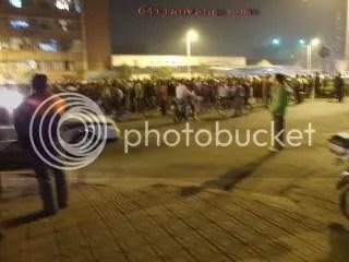 Hangzhou worker protest
