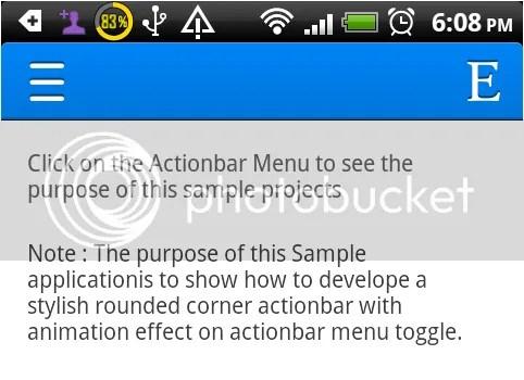 Actionbar