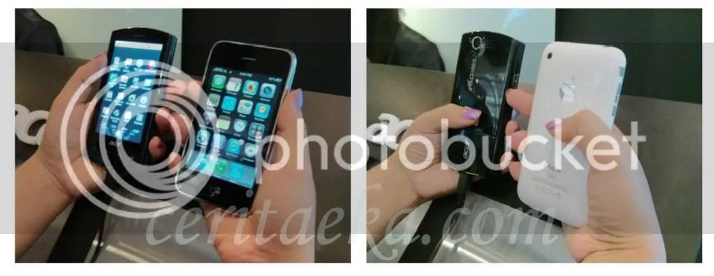 Liquid E and iPhone