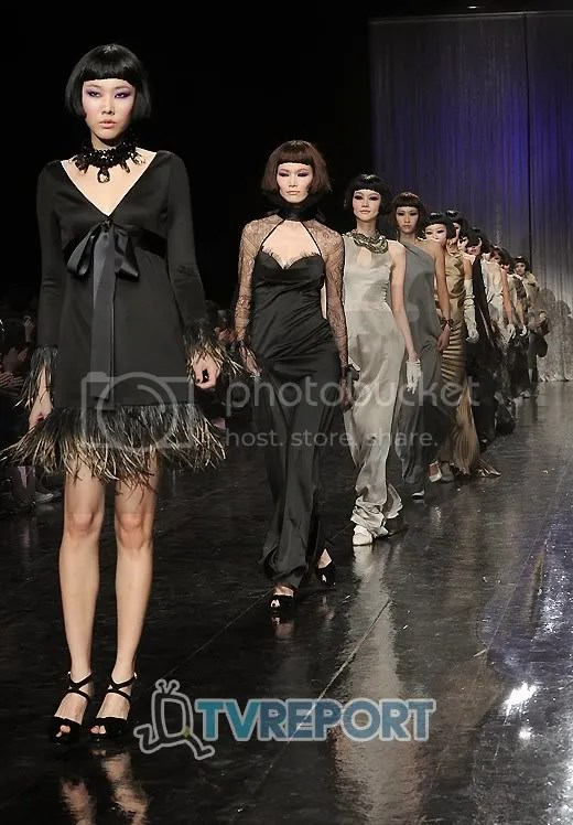 Front Row Miss Gee Collection 2011 F W Seoul Fashion Week Lsgfan Lee Seung Gi Blog