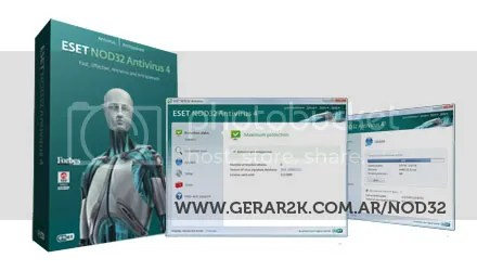 Eset NOD32 Antivirus 4 - Cover
