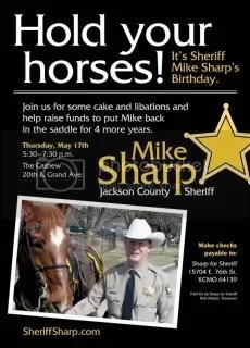 Sheriffs Birthday Party