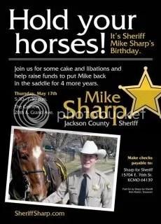 Sheriffs Birthday Party