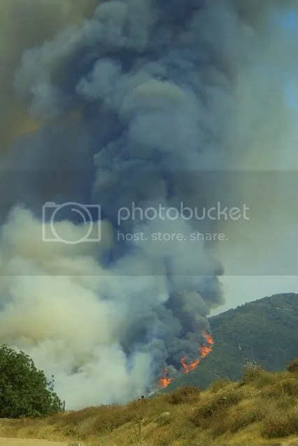 Oak Glen Fire 2009