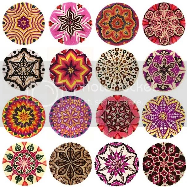 Mandala Cakes by Stephen McCarty