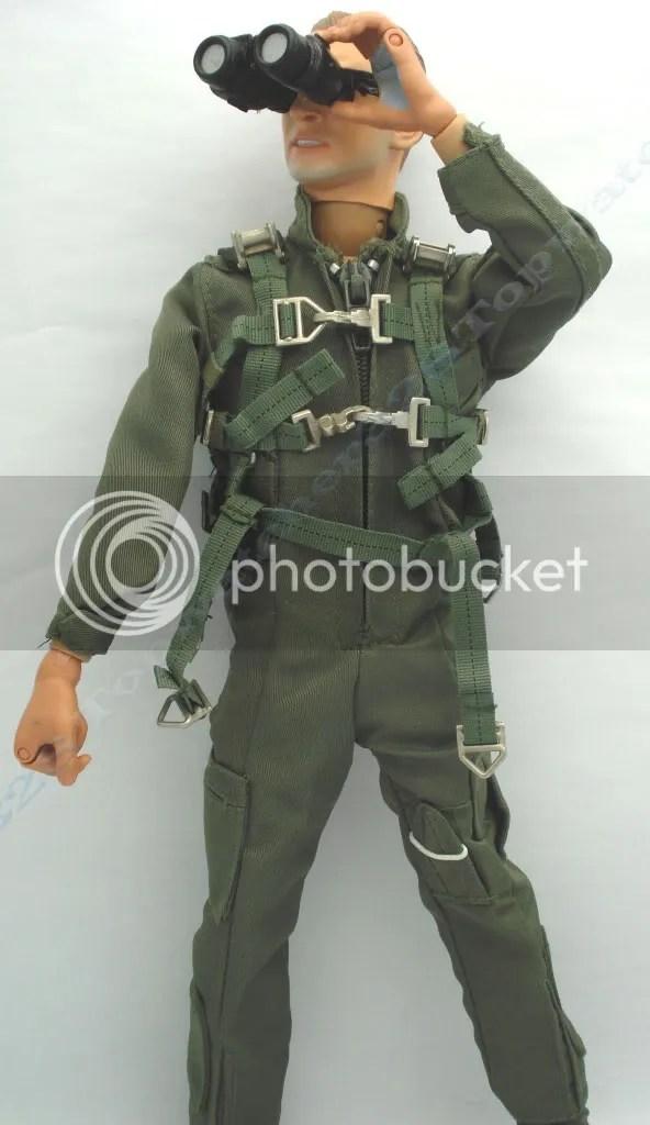 1 6 Bbi Figure Aviator Pilot Uniform Harness Set 3