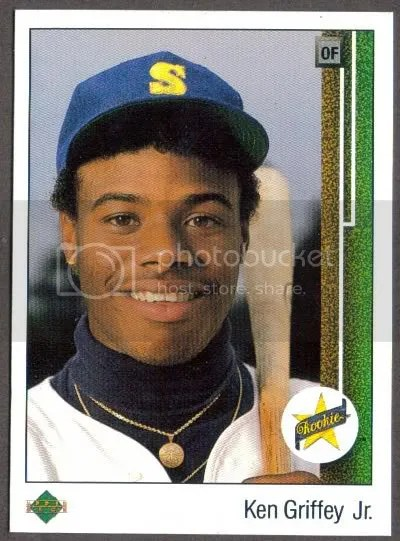 Ken Griffey Jr. Upper Deck RC